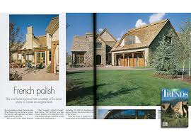 home and architectural trends magazine williams partners architects a cover article featuring the fox