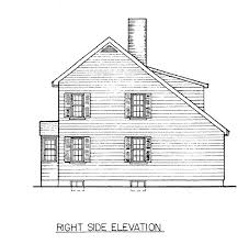 100 house plans with rear view apartments cute house plans