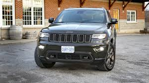 jeep grand cherokee limited 2017 jeep grand cherokee limited 75th anniversary edition 4x4 test