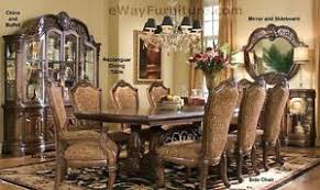 formal dining room set 7 pc formal dining room furniture table set ebay