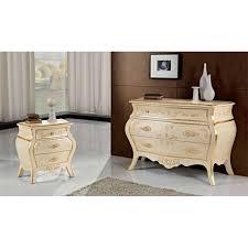 comodini foglia argento como e comodini classici galleria mobili roma