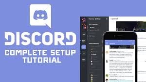 discord tutorial complete discord voice chat server setup tutorial youtube