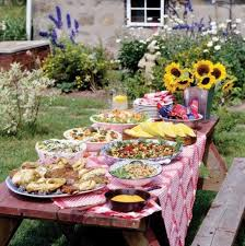 Backyard Bbq Menu by Barbecue Party Decorations Ideas Backyard Bbq Outdoor Party