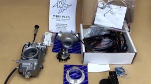 harley twin cam efi to carburettor and ignition conversion kit