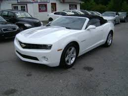 white chevy camaro for sale used 2011 chevrolet camaro lt convertible for sale stock 9662