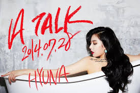 hyuna is as sexy as ever in recent photo shoot soompi hyuna gets ready for a talk with sexy teaser images for her solo
