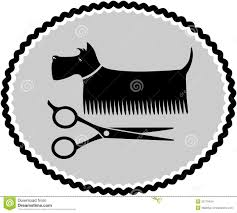 dog haircut sign stock images image 32719424
