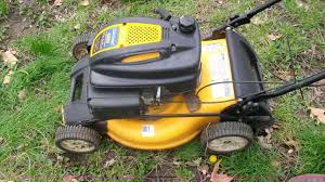 lawn mowers cub cadet push lawn mower machine inch lawn mower
