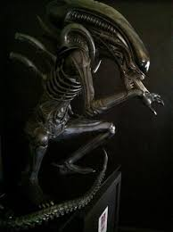 full size alien movie statue halloween props the horror dome
