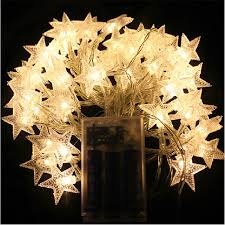 battery operated star lights zinuo 4m 40pcs led star beauty light party fairy lights battery