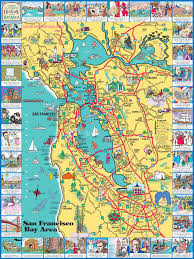 San Francisco Topographic Map by San Francisco Maps For Visitors Bay City Guide San Francisco San