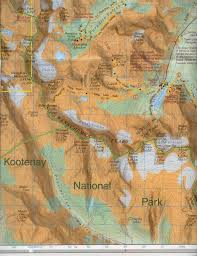 Moraine State Park Map by Canadian Rockies
