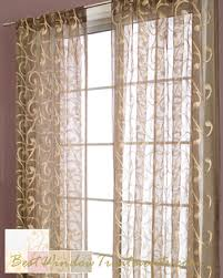 Sheer Panel Curtains Wonderful Inspiration Sheer Curtain Panels With Designs How To