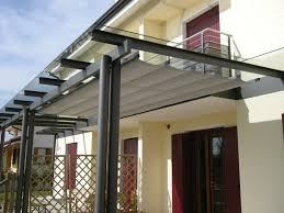 self supporting pergola aluminum fabric sliding canopy