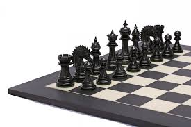 ferocious elite series chess set in ebony box wood 4 3