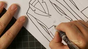 how to draw a jacket flat a fashion design lesson preview youtube