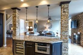 kitchen islands with columns oversized kitchen island kronista co