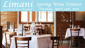 limani to host wine dinner with nosvino westfield nj news tapinto