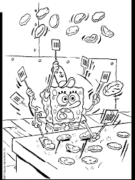 spongebob coloring pages coloring pages print