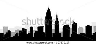 royalty free cartoon skyline silhouette of the city u2026 127214783