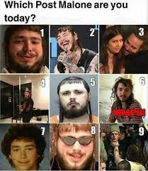 Which Meme Are You - dopl3r com memes which post malone are you today mmpi