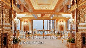 trumps gold house a look inside president trump s white house north urbarc youtube