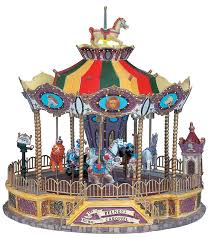 lemax belmont carousel virtual villages pinterest carousel