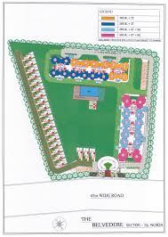 Belvedere Floor Plan Ajnara Belvedere Noida Site Plan