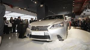 2013 lexus gs prototype first 2013 lexus gs 350 f sport unveiled in johannesburg