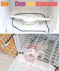 How To Clean A Whirlpool Dishwasher Drain Best 25 Cleaning Dishwasher Vinegar Ideas On Pinterest Cleaning