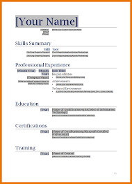 Resume Template Microsoft Word Mac by Microsoft Sle Nursing Student Resume Template Word Doc Free