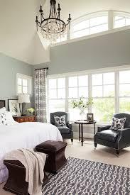 Benjamin Moore Silver Gray Bedroom Benjamin Moore Silver Lining Bedroom Transitional With