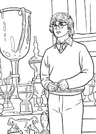 harry potter coloring pages hogwarts crest easy harry