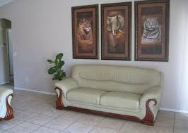home interior tiger picture tiger elephant painting on display arizona home house