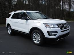 Ford Explorer Xlt - 2016 oxford white ford explorer xlt 111154064 gtcarlot com