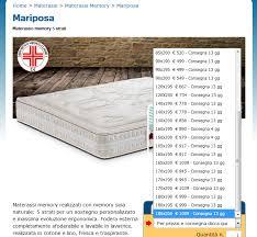materasso king size misure a cosa corrisponde la misura king size materassi