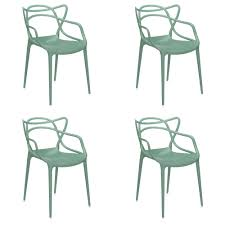 masters chairs set of 4 by philippe starck u0026 eugeni quittlet
