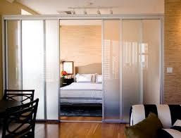 Captivating Bedroom Divider Ideas regarding Sliding Panel Room
