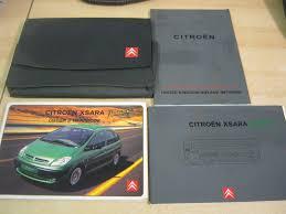 citroen xsara picasso owners manual owners handbook 2001 2007 inc
