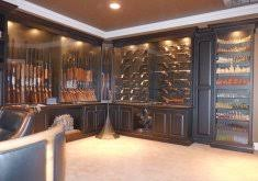 model 52 gun cabinet built in gun cabinet the secureit model 52 gun cabinet is a premium
