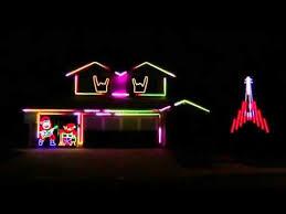 johnson family christmas lights 2015 johnson family dubstep christmas light show featured on abc s
