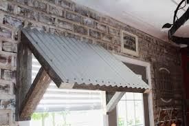 Awning Frames Diy 10 Corrugated Metal Awning Hometalk