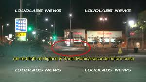 ran a red light camera michael hastings caught on camera running red light seconds before