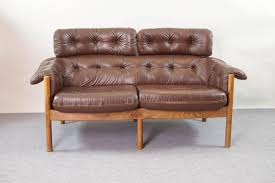 Antique Tufted Sofa by Tufted Leather Chair Vintage Tufted Leather Sofa By Arne Norell