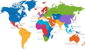 World Map Caribbean by Wine Regions World Map Social Vignerons