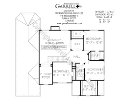 Traditional Floor Plan Broadberry C House Plan House Plans By Garrell Associates Inc