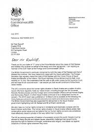the foreign u0026 commonwealth office u0027s reply to our open letter