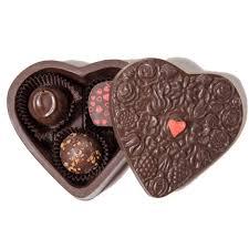 chocolate heart box edible chocolate heart box maitland chocolate factory