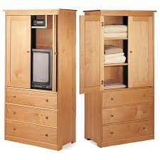 Armoire Solid Wood Shaker Armoire Broyhill Furniture Wardrobe Armoires Furniture