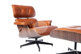 vintage eames lounge chair and ottoman replica eames lounge chair vintage brown walnut furniture